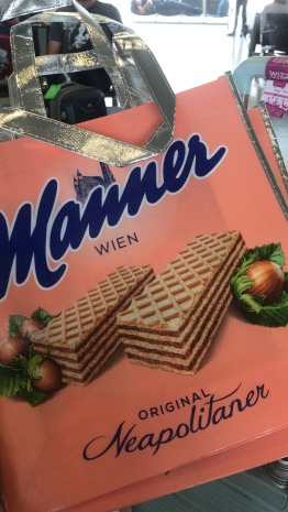 Manner Wien candy in Austria