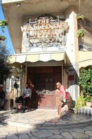 Walled Off Hotel, a spin-off of the Waldorf-Astoria
