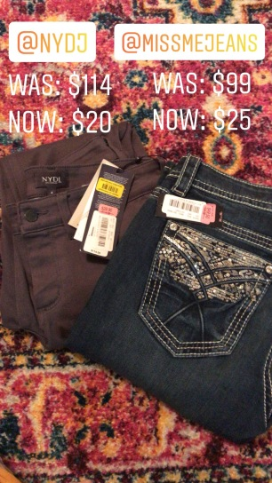 Not Your Daughter's Jeans $20